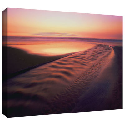 Brushstone Back to the Sea Gallery Wrapped CanvasWall Art - Vista