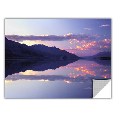 Brushstone Bad Water Sunset Removable Wall Decal