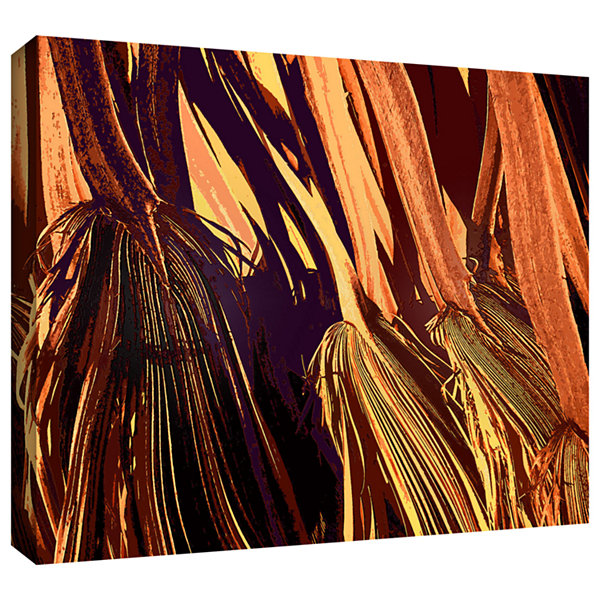 Brushstone Badlands Palm Gallery Wrapped Canvas Wall Art