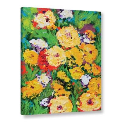 Brushstone Bagatelle Garden Gallery Wrapped CanvasWall Art