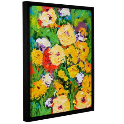 Brushstone Bagatelle Garden Gallery Wrapped Floater-Framed Canvas Wall Art