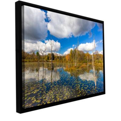 Brushstone Beaver Marsh Gallery Wrapped Floater-Framed Canvas Wall Art
