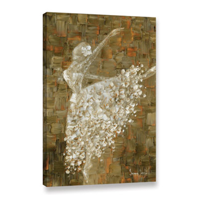 Brushstone Ballerina Gallery Wrapped Canvas Wall Art