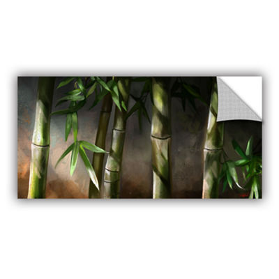Brushstone Bamboo Removable Wall Decal