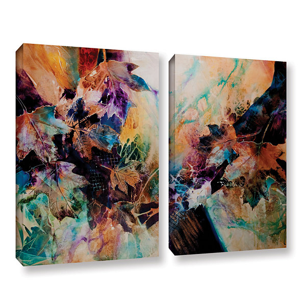 Brushstone Beckoning 2-pc. Gallery Wrapped CanvasWall Art