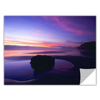 Brushstone Bandon Beach Twilight Removable Wall Decal