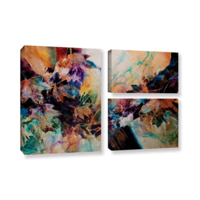 Brushstone Beckoning 3-pc. Flag Gallery Wrapped Canvas Wall Art