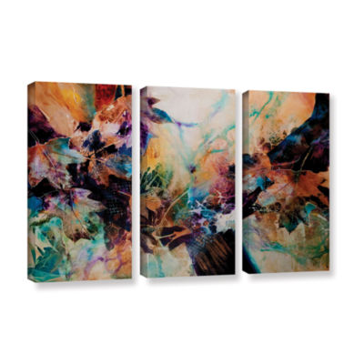 Brushstone Beckoning 3-pc. Gallery Wrapped CanvasWall Art