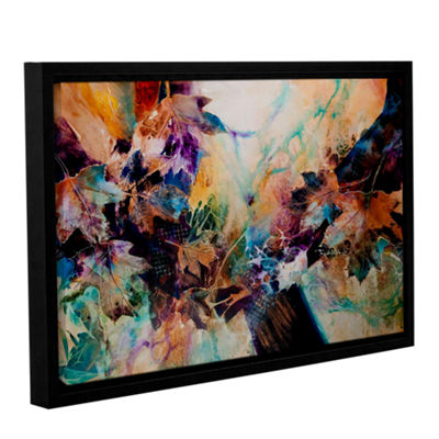 Brushstone Beckoning Gallery Wrapped Floater-Framed Canvas Wall Art