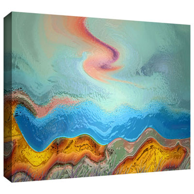 Brushstone Becoming Human Gallery Wrapped Canvas Wall Art