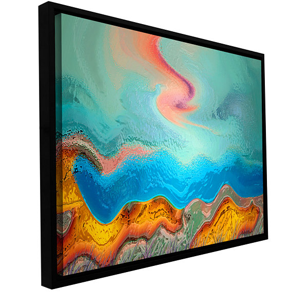 Brushstone Becoming Human Gallery Wrapped Floater-Framed Canvas Wall Art