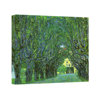 Brushstone Beeche Forest Gallery Wrapped Canvas Wall Art