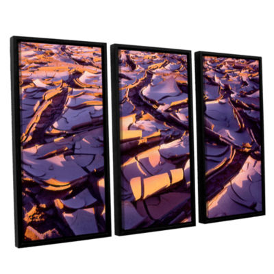 Brushstone Barro Magnifico 3-pc. Floater Framed Canvas Wall Art