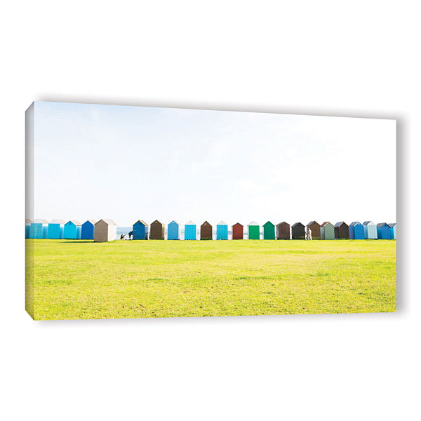 Brushstone Beechyhuts01 Gallery Wrapped Canvas Wall Art