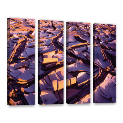 Brushstone Barro Magnifico 4-pc. Gallery Wrapped Canvas Wall Art