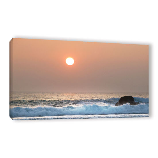 Brushstone Black Rock 7 Gallery Wrapped Canvas Wall Art