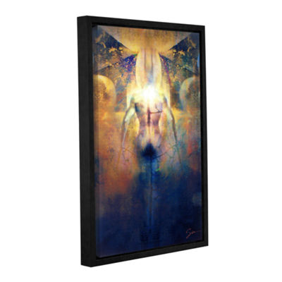 Brushstone Batman Gallery Wrapped Floater-Framed Canvas Wall Art