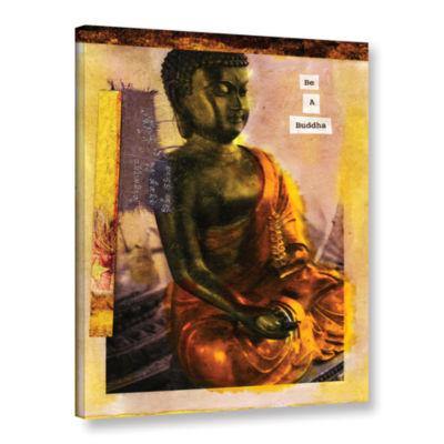Brushstone Be a Buddha Gallery Wrapped Canvas WallArt