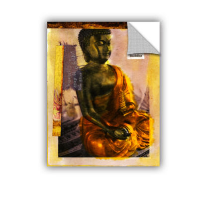 Brushstone Be a Buddha Removable Wall Decal
