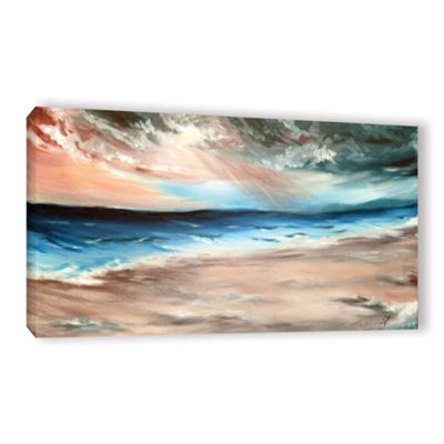 Brushstone Be Near Gallery Wrapped Canvas Wall Art