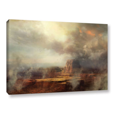 Brushstone Before the Rain Gallery Wrapped CanvasWall Art