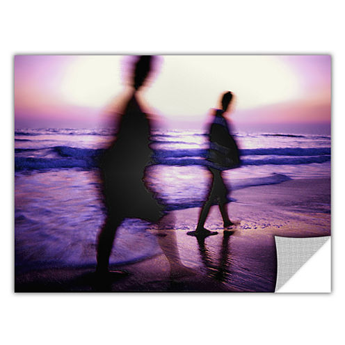 Brushstone Beach Combers Removable Wall Decal