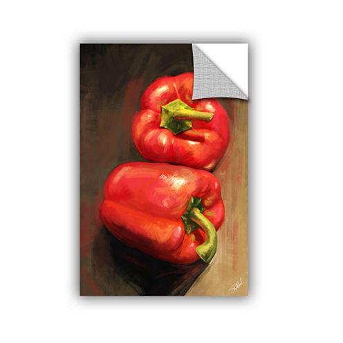 Brushstone Bell Peppers Removable Wall Decal