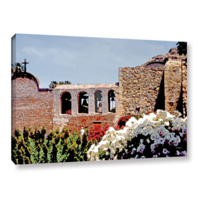 Brushstone Bells of Mission San Juan Capistrano Gallery Wrapped Canvas Wall Art