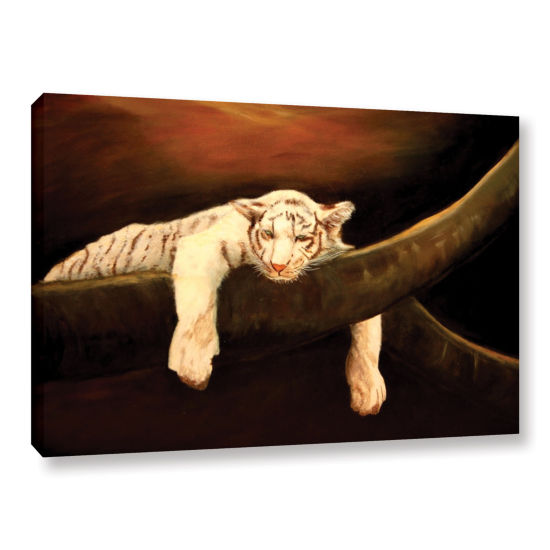 Brushstone Baby Tiger Gallery Wrapped Canvas WallArt