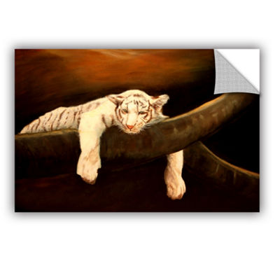 Brushstone Baby Tiger Removable Wall Decal