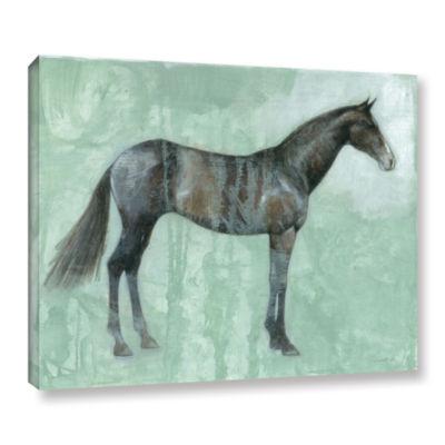 Brushstone Black Beauty Gallery Wrapped Canvas Wall Art