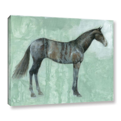 Brushstone Black Beauty Gallery Wrapped Canvas Wall Art