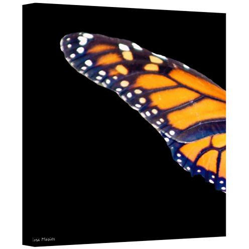 Brushstone Backyard Butterfly Gallery Wrapped Canvas Wall Art