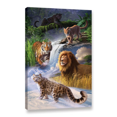 Brushstone Big Cats Gallery Wrapped Canvas Wall Art