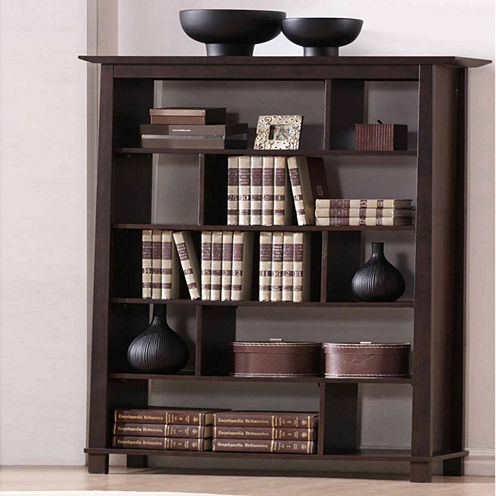 Baxton Studio Havana Tall Bookshelf