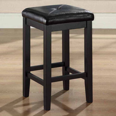 Upholstered Square Seat Counter Stool - Set of 2