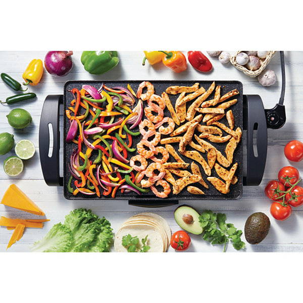 "The Rock By Starfrit 19"" X 13"" Electric Griddle 024402-004-0000"