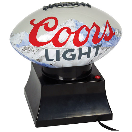 Coors Light Football Shaped Popcorn Maker
