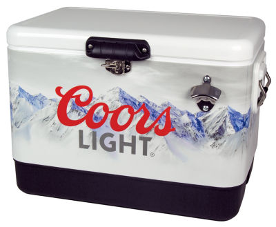 Coors Light 54 Quart Ice Chest
