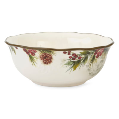 JCPenney Home Pineberry Serving Bowl