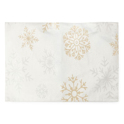 North Pole Trading Co. Falling Snow 4-pc. Placemat