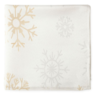North Pole Trading Co. Falling Snow 4-pc. Napkins
