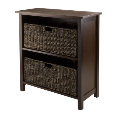 Winsome Granville 3-Pc - Storage Shelf with 2 Foldable Baskets