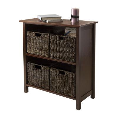 Winsome Granville 5pc Storage Shelf Set
