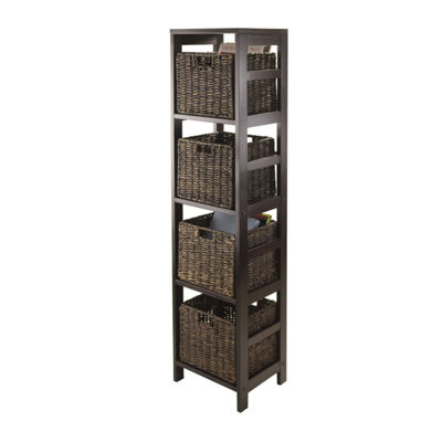 Winsome Granville 5pc Storage Tower Shelf Set