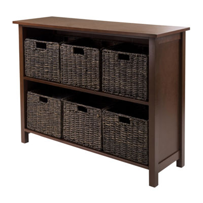 Winsome Granville 7-Pc Storage Shelf Set