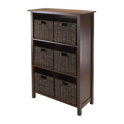 Winsome Granville 7pc Storage Shelf Set