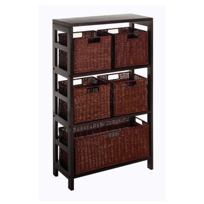 Winsome Leo 6pc Shelf Set