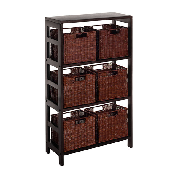 Winsome Leo 7pc Shelf Set