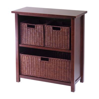 Winsome Milan 4pc Shelf Set